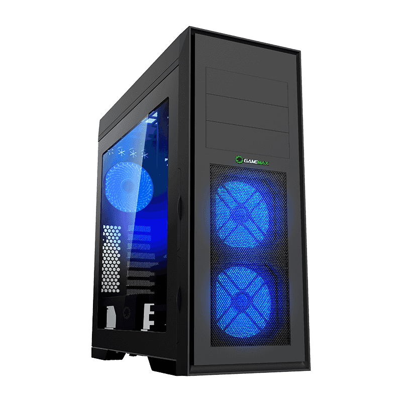Корпус ПК без БП GameMax Master M905X <Full-Tower, window, 1х120, USB2.0x2, USB3.0x1, 8xHDD3,5>