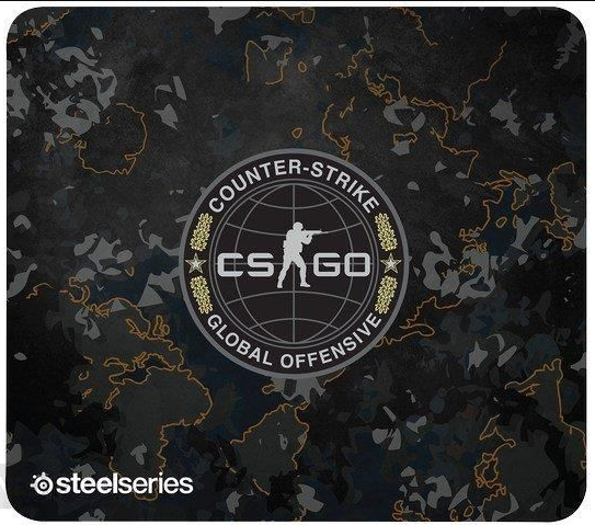 Коврик для мыши SteelSeries QcK+ CS:GO Camo Edition