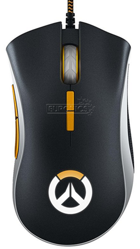 Мышь игровая Razer DeathAdder Elite Overwatch <16000dpi, USB 2.1m, Multi-color Ergonomic>