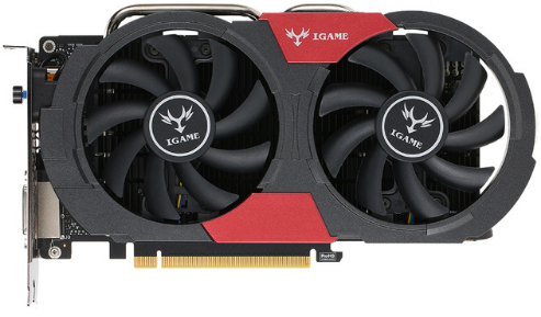 Видеокарта Colorful PCI-E NV GTX1050Ti iGame Vulcan U 4GB <GDDR5, 128-bit, HDMI, DVI-D, DP>