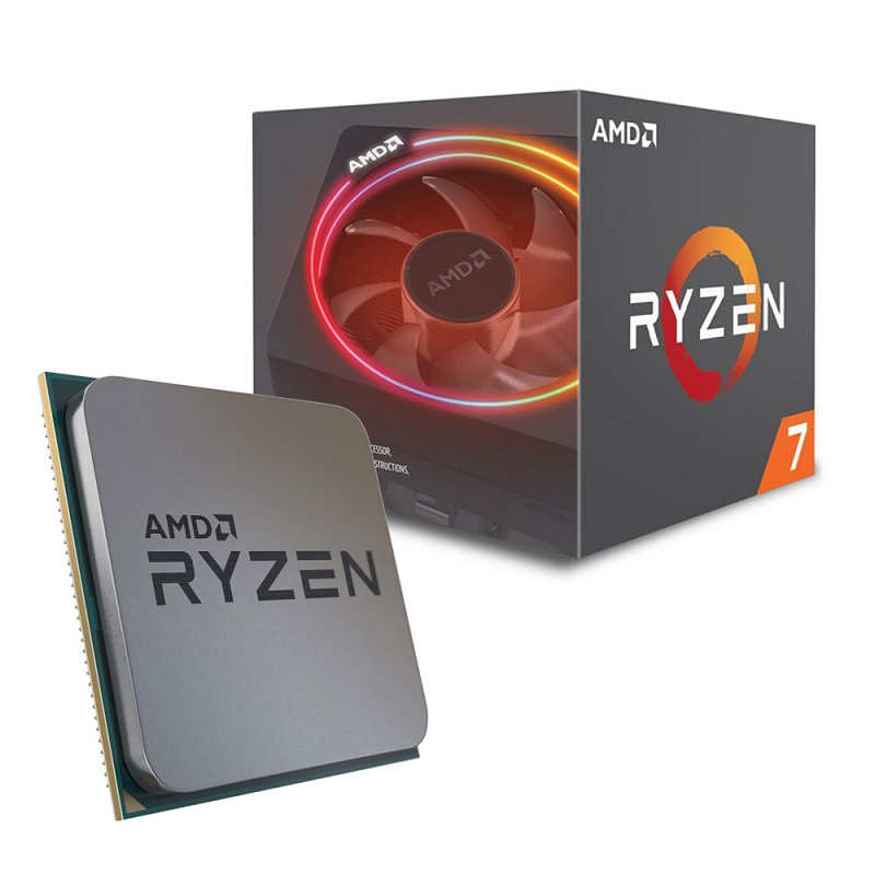 Процессор CPU AM4 AMD Ryzen 7 2700X BOX <4.3GHz, 105W, 8C/16T, 20MB(L2+L3)>