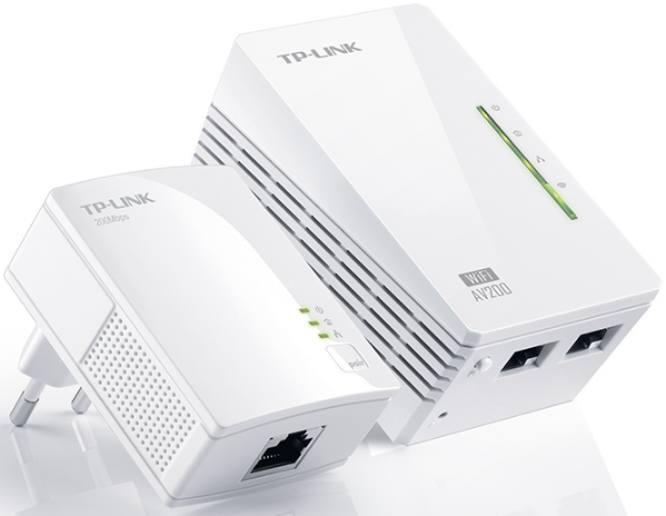 Сетевой адаптер Powerline Tp-Link TL-WPA2220 KIT(EU)
