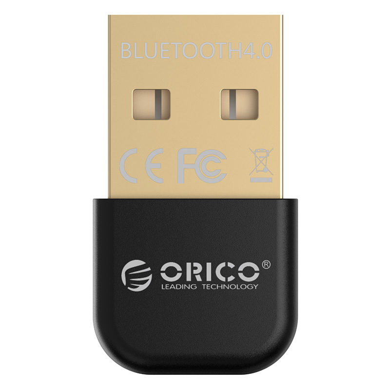 Адаптер USB Bluetooth ORICO BTA-403-BK <BT4.0, 3Mbps, до 20M, BLACK>