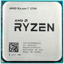 Процессор CPU AM4 AMD Ryzen 7 2700 TRAY <4.1GHz, 65W, 8C/16T, 20MB(L2+L3)>