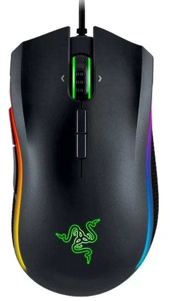 Мышь игровая Razer Mamba Tournament Edition <16000dpi, USB 2.1m, Multi-color >
