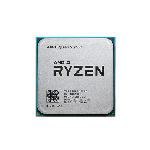 Процессор CPU AM4 AMD Ryzen 5 2600 TRAY <3.4GHz, 65W, 6C/12T, 19MB(L2+L3)>