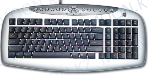 Клавиатура A4tech KBS-21 PS2 Silver Black