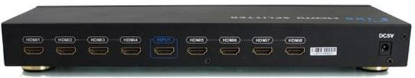 Разветвитель HDMI-Splitter Green Connection GC-HDSP108 <1 компьютер - 8 мониторов>