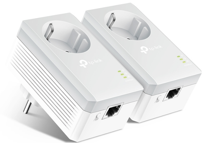 Сетевой адаптер Powerline Tp-Link TL-PA4010P KIT AC Pass Through