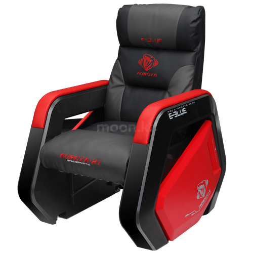 Игровое кресло E-BLUE Auroza EEC333BKAA-IA RED/BLACK
