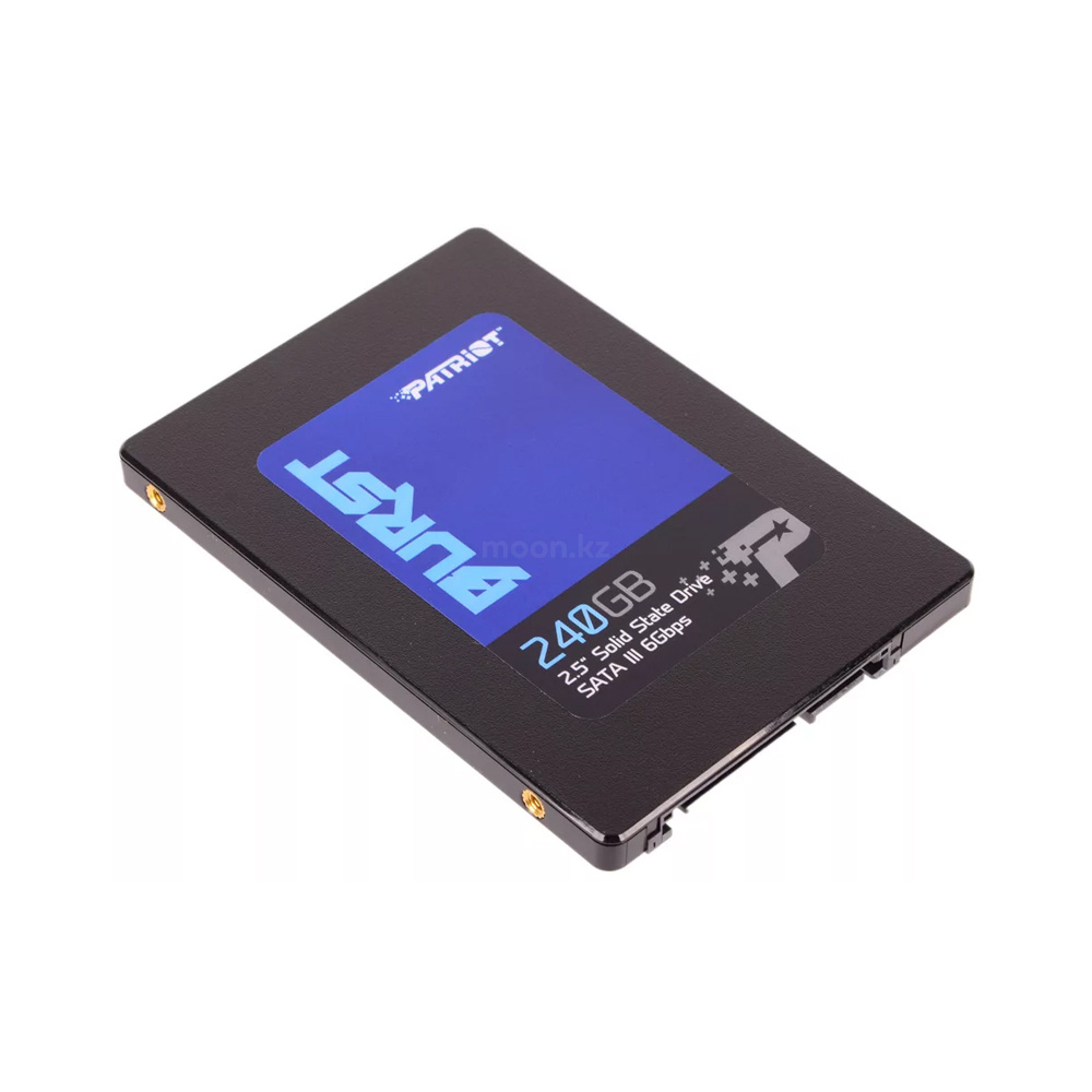 "Накопитель SSD 2.5"" SATA III Patriot 240GB BURST 555/500 PBU240GS25SSDR"