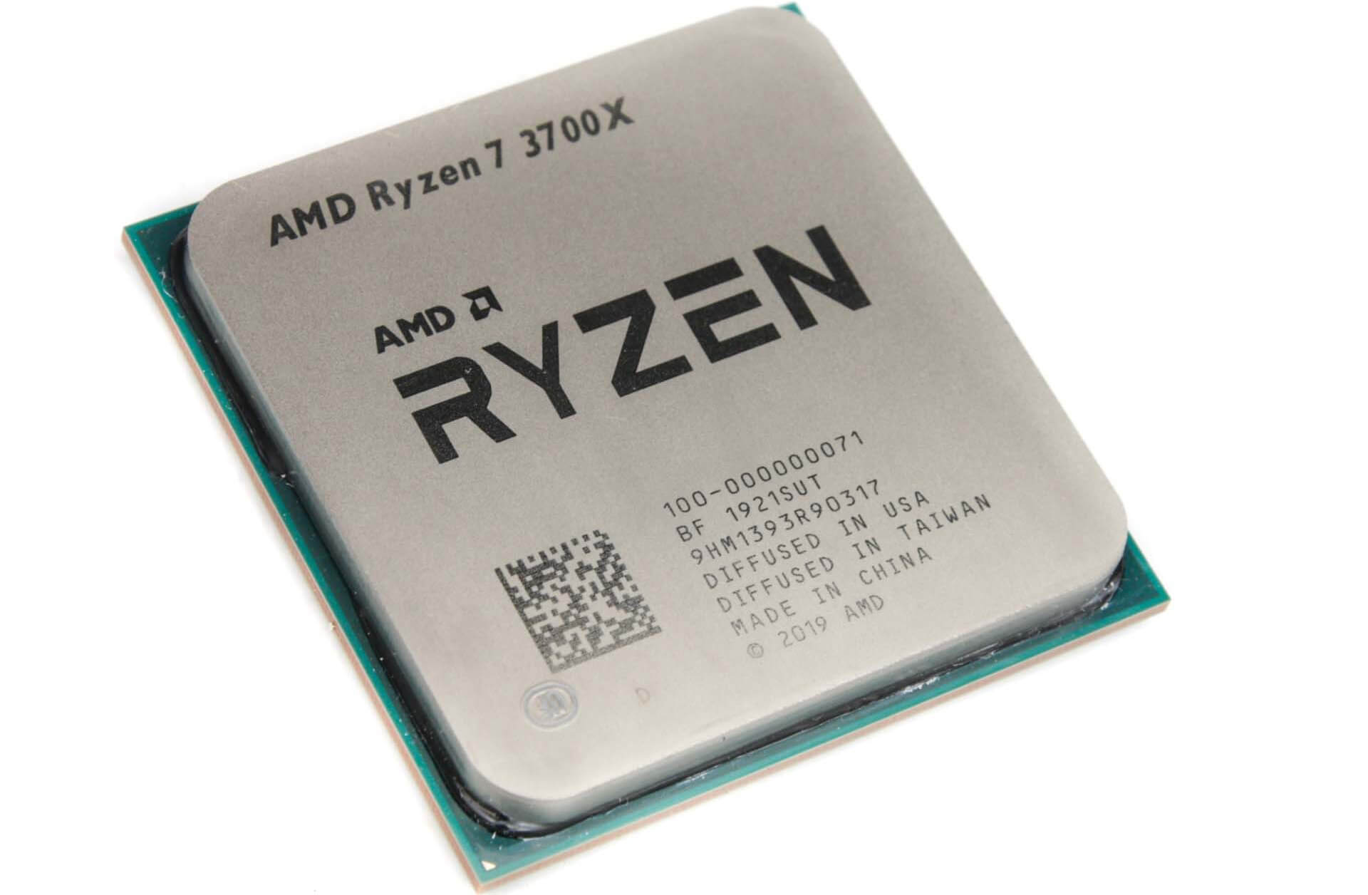 Процессор CPU AM4 AMD Ryzen 7 3700X TRAY <3.6GHz, 65W, 8C/16T, 32MB(L2+L3)>