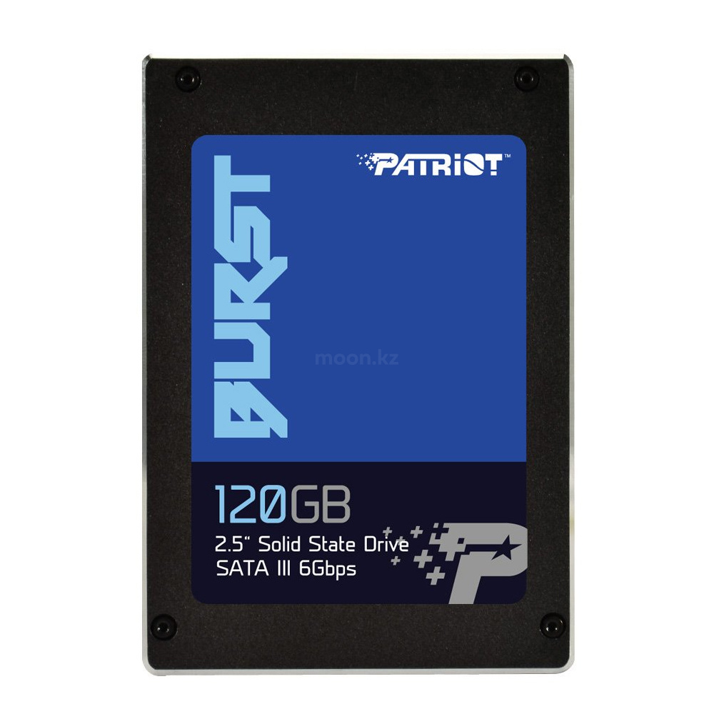 "Накопитель SSD 2.5"" SATA III Patriot 120GB BURST 560/540 PBU120GS25SSDR"
