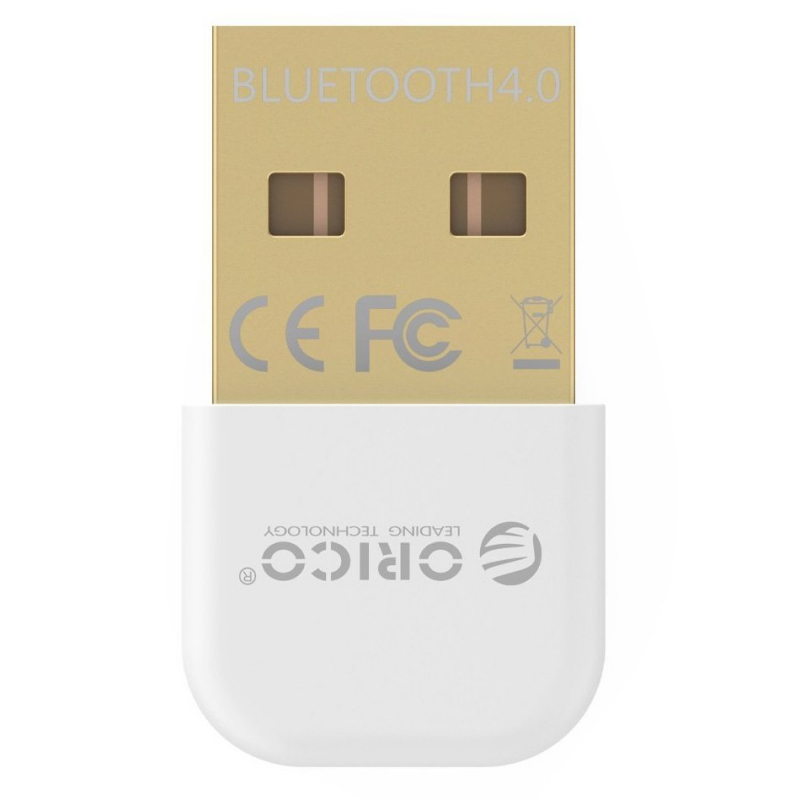 Адаптер USB Bluetooth ORICO BTA-403-WH <BT4.0, 3Mbps, до 20M, WHITE>