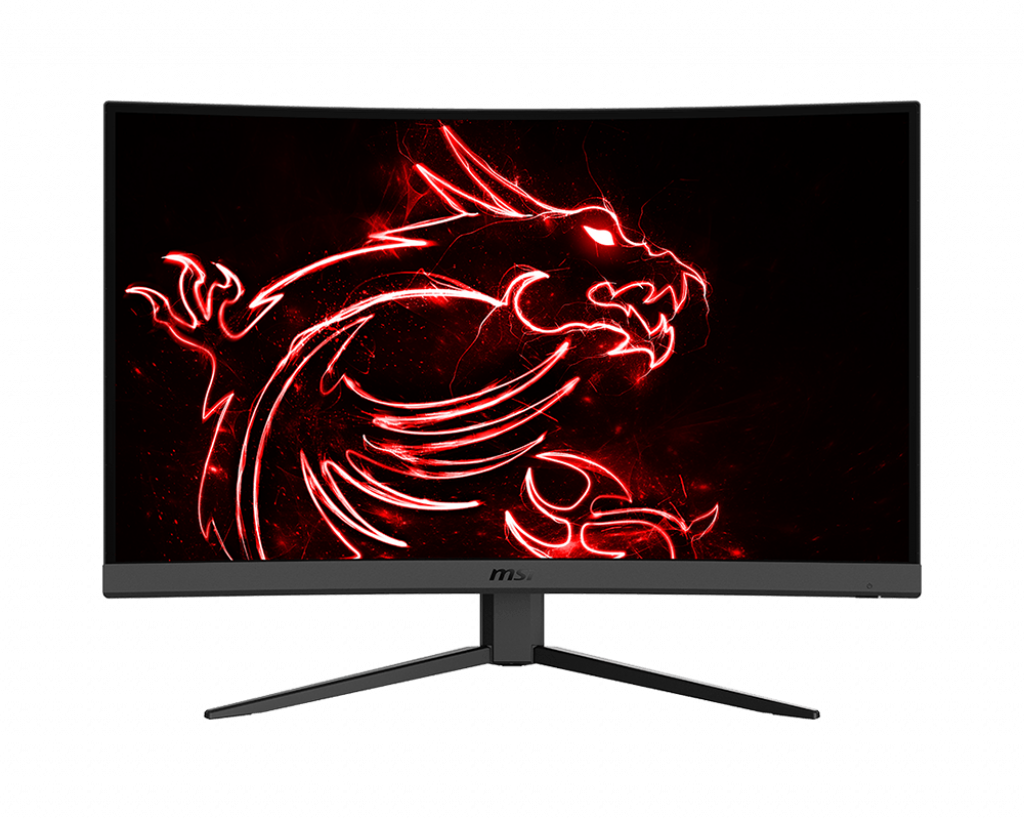 "Монитор ЖК 27"" MSI Optix G27C4 <VA 165HGz 1500R 1ms 250cd/m 3000:1 100млн:1 2xHDMI DP>"