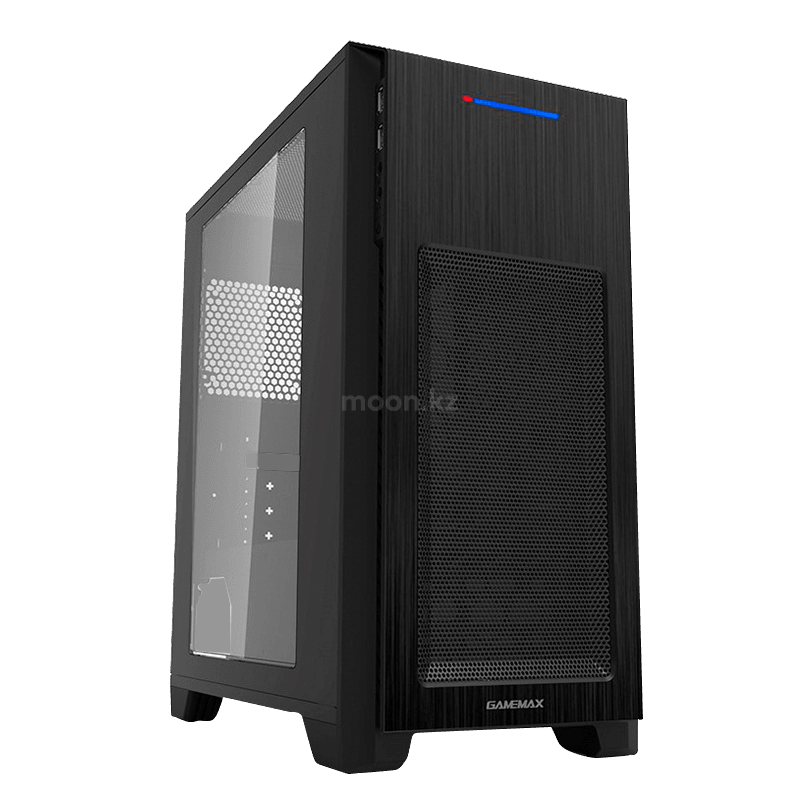 Корпус ПК без БП GameMax H603-1U3 <ATX, USB3.0x1, USB2.0x1, HD, x3,5, 2x2,5, 188x440x407mm,>