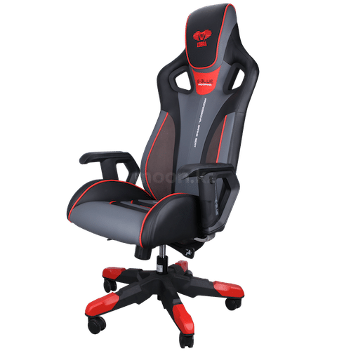 Игровое кресло E-BLUE Cobra EEC313REAA-IA RED/BLACK