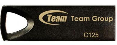 Флеш накопитель USB 2.0 TEAM 64GB C125 DRIVE BLACK TC12564GB01