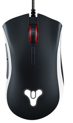 Мышь игровая Razer DeathAdder Elite Destiny 2 <16000dpi, USB 2.1m, Multi-color Ergonomic>