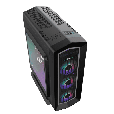 Корпус ПК без БП GameMax Asgard FRGB G516 <ATX, 4x120mm, USB2.0x2, USB3.0x1, HDAudio, 400x185x470mm>