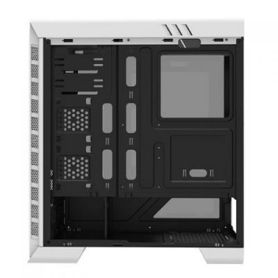 Корпус ПК без БП GameMax Pardo White <ATX, 7xPCI-E, 1x5.25, 2x3.5, 2x2.5, 400x185x470mm>