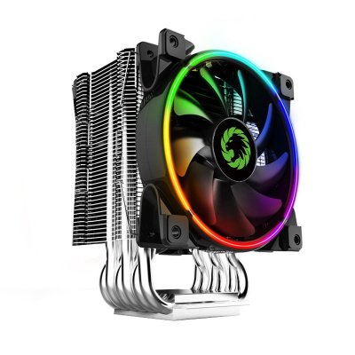 Вентилятор GameMax Gamma 500-Rainbow <RGB, Intel/AMD, TDP187W>