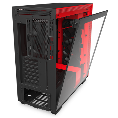 Корпус NZXT H710  CA-H710B-BR Mid Tower Black/Red