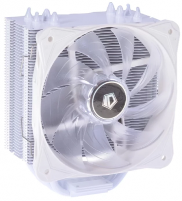 Вентилятор ID-Cooling SE-214L-SNOW <LED, 1150/1155/1156/775/FM2+/FM1/AM3+/AM2+, 120mm, 130W, 4PIN>