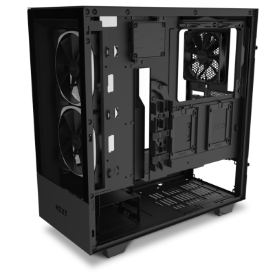Корпус NZXT H510 Elite Compact  CA-H510E-B1 Mid Tower Matte Black