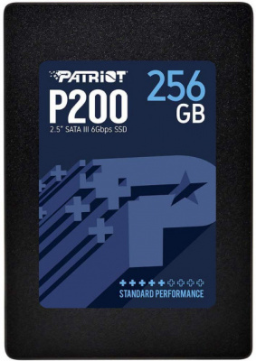 "Накопитель SSD 2.5"" SATA III Patriot  256GB P200 530/460 P200S256G25"