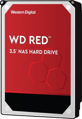 "Жесткий диск HDD 4Tb Western Digital RED WD40EFAX <SATA-III, 5400rpm, 3.5"", 6.0 Gb/s, 256Mb>"