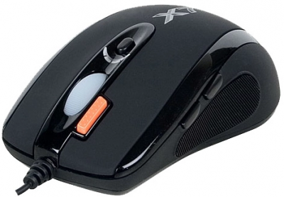 Мышь A4tech X-718BK Black, USB