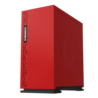 Корпус ПК без БП GameMax EXPEDITION H605-RD<MATX, 1х120, USB2.0x2, USB3.0x1, 350x180x380mm>